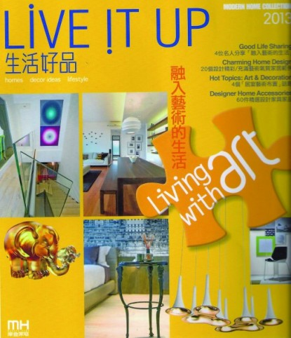 LIVE IT UP cover janvier 2013 BLANC BIJOU